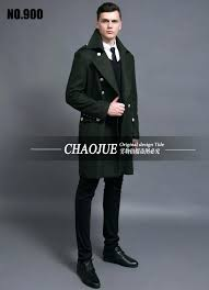 mens navy pea coat design coats and jackets s oversized tall and big men green woolen