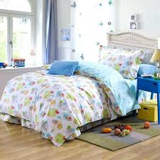 covers twin blue cartoon sheep plant cotton bedding bed clothes for kids toddler twin size duvet quilt doona