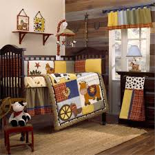 horse crib bedding fossil brewing design find cowboy baby bedding ideas
