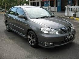 2005 Toyota Corolla Pictures, 1.6l., Gasoline, FF, Automatic For Sale