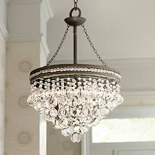 bronze and crystal chandelier. Bronze And Crystal Chandelier
