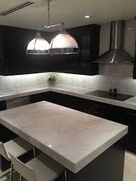 Kitchen Furniture Miami Mystery White Marble Slab Kitchen Countertop South Miami Kitchen