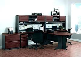 two desk office. Desks For Two 2 Person Desk Reception Office Home