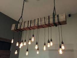 full size of how to make a rustic wood beam chandelier reclaimed wooden industrial light fixture