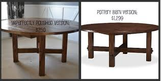 diy round rustic dining table unique diy round dining table plans