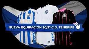 Club Deportivo Tenerife, Football Club Compete in The Spanish Campeonato  Nacional de Liga de Segunda División La Liga 2 aka La Liga SmartBank  🇪🇸Reino de España🇪🇸 Home, Away and Third Jersey For