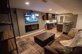 Basement Living Rooms Design Custom Inspiration Ideas