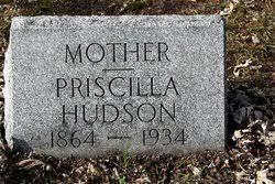 Priscilla Arnold Hudson (1864-1937) - Find A Grave Memorial