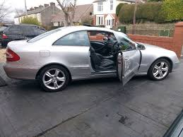 Mercedes Benz CLK 500 Avantgarde Auto Coupe AMG Exhaust System ...