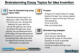 brainstorming essay topics for idea invention png how do brainstorming essay topics help