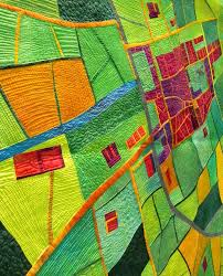 88 best World Quilt Show - Florida images on Pinterest | Florida ... & Alicia Merrett: Cathedral Town - Harvest Time detail world quilt show  florida 2012 | Flickr Adamdwight.com