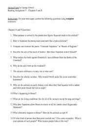 the best animal farm study guide ideas horse  animal farm chapters 8 and 9 follow along questions study guide