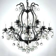 black wrought iron chandelier black wrought iron crystal chandelier black wrought iron orb chandelier