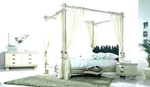 bamboo four poster bed – clayborne.co