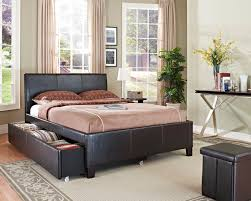New York Bedroom Furniture 93960 Ny Brown Trundle Bed 46jpg