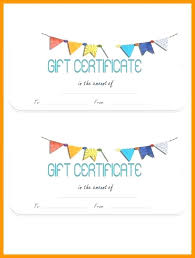 Free Printable Gift Certificate Template Word Free Birthday Gift Certificate Template Word Topgamers Xyz