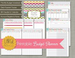 Printable Budget Planner 2018 Free Financial Budget Planner