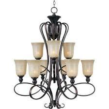 infinity 9 light oil rubbed bronze chandelier