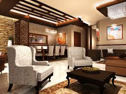 Small Picture Interior Design Stone Wall With Contemporary Interior Living Room