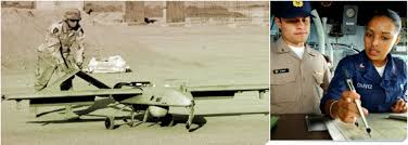 photo 1 specialist operates surveillance plane photo 2 specialist reviews intelligence data navy intelligence specialist