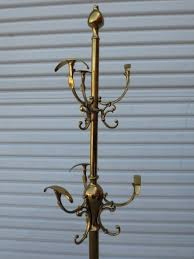 Coat And Hat Rack Stand antique hat rack for sale American Antique Brass Coat Rack Hat 9