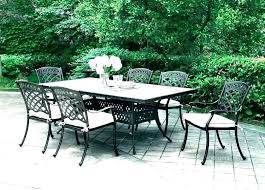 round outdoor dining table 60 6 seater set malibu piece square decorating likable for inch rectangular