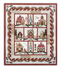 Gingerbread Village Block of the Month or All at Once is Back! by ... & Other products and companies referred to herein are trademarked or  registered trademarks of their respective companies or mark holders. Adamdwight.com