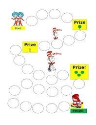 Dr Seuss Chart Dr Seuss Reward Chart