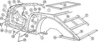 morgan motors of new england 4 roadster 4 seater super sport roadster 1958 1966 see diagram