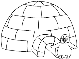 Small Picture Little Penguin Igloo House Coloring Pages Bulk Color