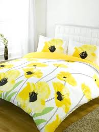 yellow and grey bed set bedroom pics yellow fl cotton bedding sets cotton grey and yellow