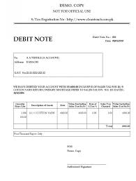Debit Note Letter Custom Authorization Letter Format For Material Best Template Credit Card