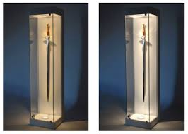 lighting for display cabinets. sword glass display cabinet lighting for cabinets