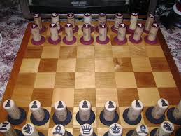 Homemade Wooden Board Games home made Chess Pieces homemade Wine Cork Chess set for my 27