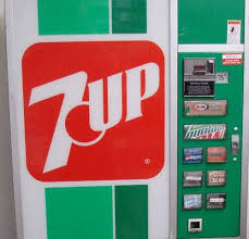 Vintage 7up Vending Machine For Sale Delectable Vintage 48up Soda Vending Machine In Las Vegas Home Basement