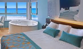 jacuzzi sea view double twin room in villa del mar hotel