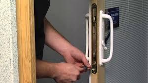 how to adjust the dual point latch on a premium wood sliding patio door jeld wen