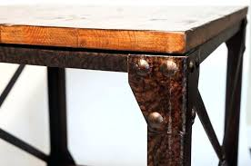 industrial style end tables industrial style reclaimed wood sofa end tables industrial style coffee table diy
