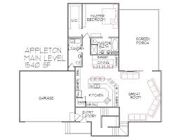 Small Picture 3 bedroom 3 Bath Split Level Architect Designed Home Plans Sioux