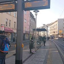 300 m fußweg zur praxis. H Herthastrasse Strassenbahnhaltestelle In Zollstock