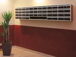 wall mounted office. Wall Mounted Office Mailboxes Jen Joes Design Deluxe Intended For Measurements 1024 X 768