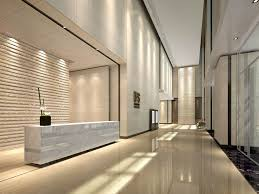 office entrance design. Commercial Office Lobby Interior Design View 02 With Stone Entrance R