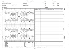 Practice Dental Charting Free 24 Right Dental Patient Chart Template