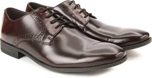 Clarks Mens Chart Walk Maroon Formal Oxford Shoes Size Uk10