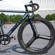 broture wheelset brotures t3 trispoke 88mm rear bicycles pmds