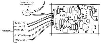 the fender eric clapton active mid boost the component list and layout for fender s mid boost preamp circuit