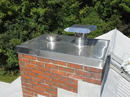 custom stainless steel chimney chase cover
