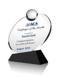 Employee Of The Month Award Customized Personalized High Quality Employee Of The Month