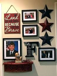 patriotic wall art decor inexpensive eagle metal canvas