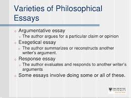 writing philosophy papers 5 varieties of philosophicalessayso argumentative essay